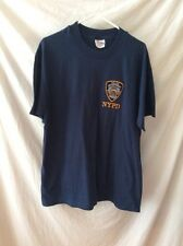 Hanes Beefy-T with NYPD ~ Large ~ Never Worn ~ Navy Blue