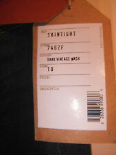 French Connection FC Skintight Women's Jeans size 10 dark vintage wash