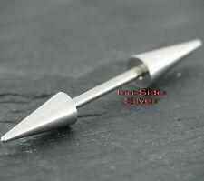 Brust Piercing Stab mit Großen Spitzen Intimpiercing Brust Intim Industrial Ohr