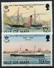 Isle Of Man 1982 SG#223-4 Steam Packet Company MNH Set #D3494