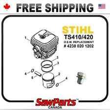 Fits STIHL TS410, TS420 CYLINDER PISTON REBUILD KIT NIKASIL best H-Q 50mm +plug
