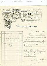 Dépt 88 - Neufchâteau - Belle Entête Manufacture de Parapluies & Ombrelles 1908