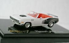 Ricko  38483 HO 1/87 Plymouth Hemi Cuda Sno-White C-9 New In Box