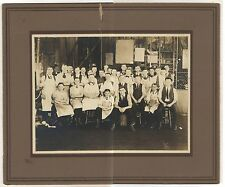 Workers in Elliott Fisher Co Factory HARRISBURG PA Antique Pennsylvania Photo