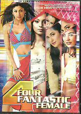 FOURE FANTASTIC FEMALE - BOLLYWOOD TOP SELECTION OF 50 SONGS DVD - FREE UK POST