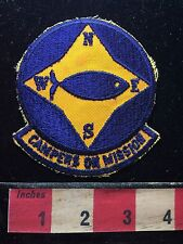 Christian Royal Ambassadors CAMPERS ON MISSION Camping Patch Compass 71U7