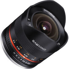 Samyang 8mm F2.8 UMC Fisheye II Lens for Canon M Mount Mirrorless Cameras