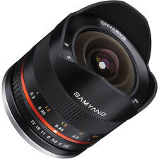 Samyang 8mm F2.8 UMC Fisheye II (Black) Lens for Samsung NX Cameras
