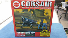 NEW OLD STOCK Cox Corsair Vintage Control Line Fighter Plane Never Opened!