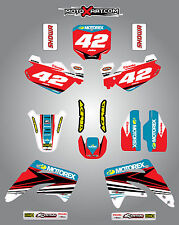 HONDA CR 85 2003 / 2012 Full  Custom Graphic  Kit STRIKE STYLE stickers decals