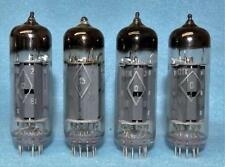 4 Russian Military 6N14N EL84 6BQ5 Vacuum Tubes Amplitrex Tested Matched Quad A1