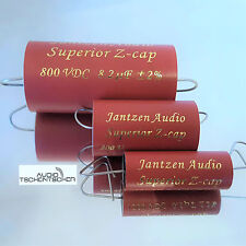 Jantzen Z-Superior Cap All Tube, 5,60 µF, 800 VDC