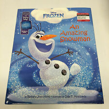 Disney's FROZEN: AN AMAZING SNOWMAN [TARGET-EXCLUSIVE PICTURE BOOK, 2014] - NEW!