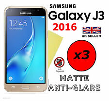 3x HQ MATTE ANTI GLARE SCREEN PROTECTOR COVER FILM GUARD SAMSUNG GALAXY J3 2016