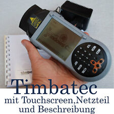MINI-PC PDA MIT WIN CE TIMBATEC POCKET PC LASER SCANNER TOUCHSCREEN STOSSSICHER
