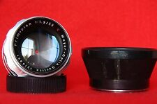 PRIMOPLAN 1.9/58 red V vintage Bokeh monster M42 14blades!!!Used