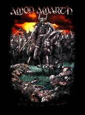 AMON AMARTH cd lgo DECEIVER OF THE GODS WARRIOR TOUR Official SHIRT SMALL oop