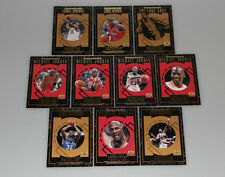 1995-96 Upper Deck Predictor komplettes Set mit Michael Jordan