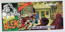 fumetto striscia - IL GRANDE BLEK serie inedita numero 121
