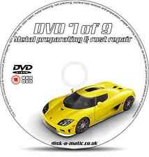 Car Bodywork METAL PREPARATION & RUST REPAIR DVD