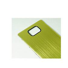 Metall Akkudeckel Gehäuse Battery Cover Case für Samsung Galaxy S2 II i91 (Grün)