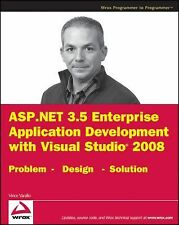 ASP.NET 3.5 Enterprise Application Development with Visual Studio 2008: Problem