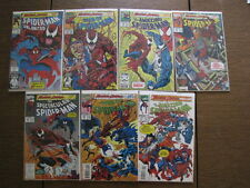 MAXIMUM CARNAGE Spider-Man COMPETE SET 14 Parts @@ All VF- copies æ