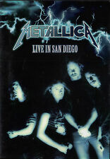 METALLICA - LIVE IN SAN DIEGO DVD (1992) LIVE JANUARY 13 & 14 1992 / 20 SONGS