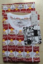 andy warhol campbell soup cans t shirt S MoMa uniqlo