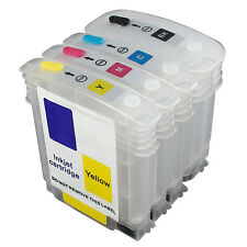 HP82 Designjet 510 hp510 C4911a CH565A C4912a C4913a refillable ink cartridge