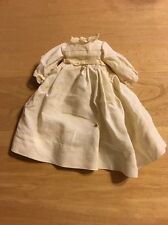 Vintage White Small Dress Perfect For Antique Doll