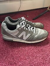 Men's New Balance M996 Grey And Silver Size 8 1/2