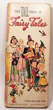 The TALL Book Of Fairy Tales Text by E.G. Vance  Wm. Sharp 1947 Hardcover No DJ