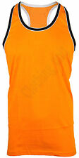 MENS SLEEVLESS VEST TANK TOP MUSCLE  GYM M L XL