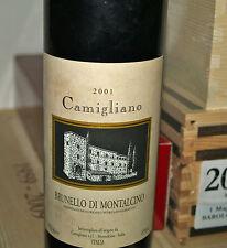 Brunello di Montalcino Castello di Camigliano 2001 Bottiglia Vino Rosso DOCG