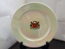 VINTAGE W & R CARLTON WARE WHITE LUSTRE SIDE PLATE CRESTED ABERDEEN