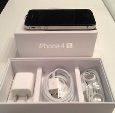 NEW in BOX APPLE iPhone 4S 32GB BLACK FACTORY UNLOCKED SMARTPHONE