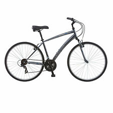 Schwinn Network 1.0 700c Mens 18 Hybrid Bike,18-Inch/Medium,Grey- S4024D Cycles