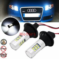 Error Free CAN-bus White 1156 7506 Audi Daytime DRL LED Bulbs Lights w/ Resistor