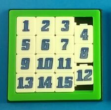 Fun Math Puzzle Number Slide Game Brain Teaser Sliding 15 Numbers Toy Kids 1 P