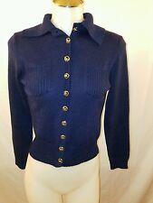St.John  Navy Blue Cardigan/Jacket Vintage Size S/M