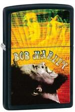 Zippo 28257 bob marley black matte finish RARE & DISCONTINUED Lighter