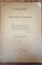 L'Aviation et le mouvement terrestre Théorie aéro-dynamique du virage 1912 1st