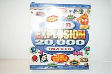 Web Explosion: 20,000 Images w/ Manual PC CD buttons bullets backgrounds banners