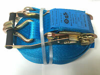 6mtr x 50mm (5 Tonne) Ratchet Strap with Claw Hooks