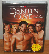 Dante's Cove - The Complete Second Season (DVD, 2007, 2-Disc Set) BRAND NEW!!!