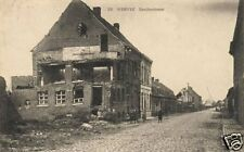 "Bomb Damage Ruins Wervik Flanders Belgium  World War 1 6.5x4"" Reprint Photo 1"