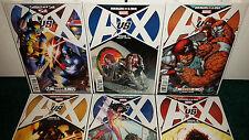 Avenergs Vs. X-men AVX Variant Covers Round 1 Romita #3 Pichelli #12 Kubert +