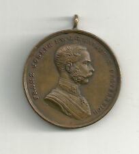 Österreich Bronzene Tapferkeitsmedaille 8.Ausgabe Franz Joseph 1914-1917