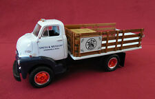 """SMITH & WESSON"" 1st Gear 1952 GMC Full Rack Stake Truck 1/34 scale #10-1326"
